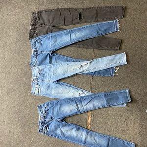 American eagle, refuge Levi's, pacsun jeans